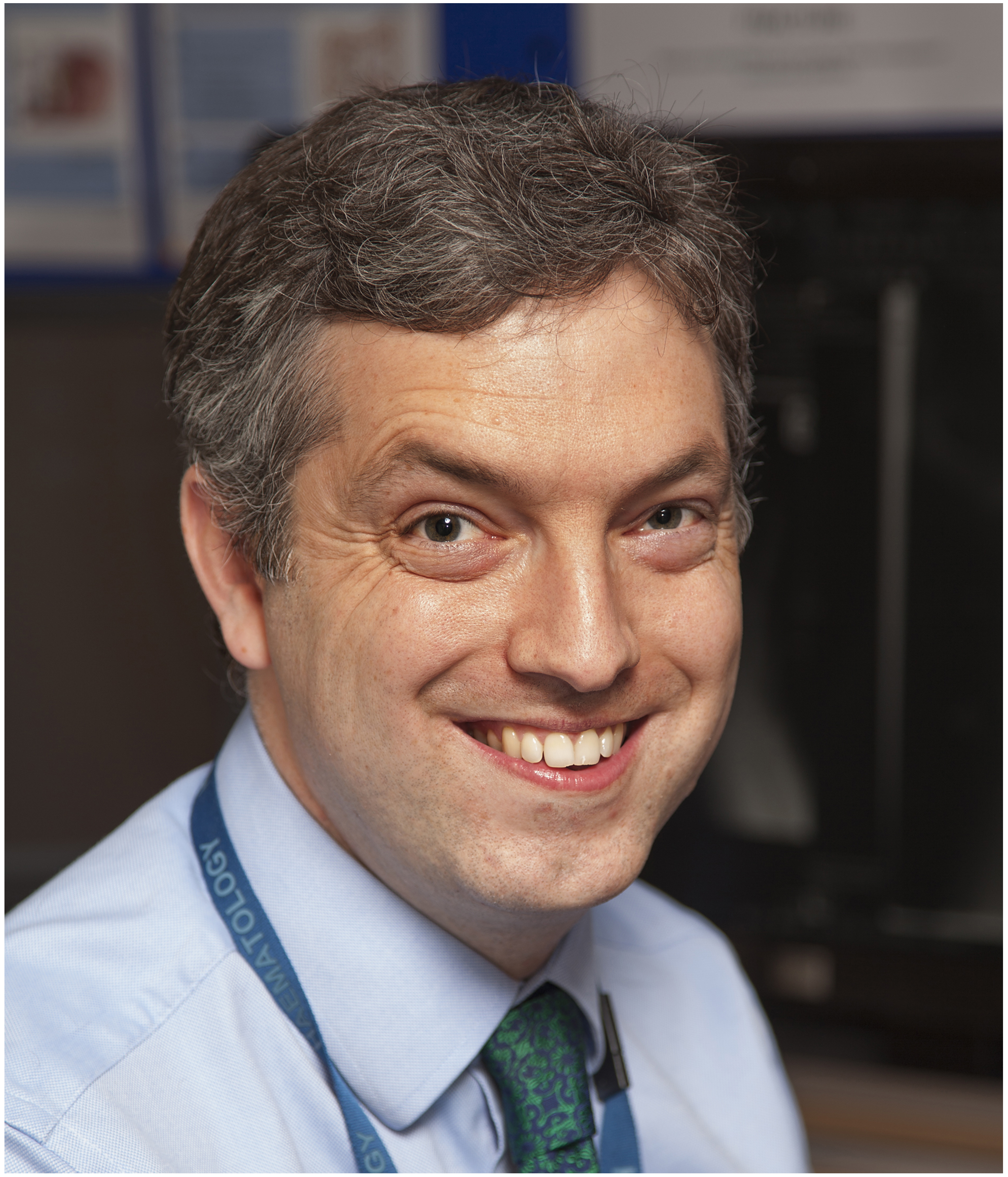 Ben Uttenthal, consultant haematologist specialising in CAR-T cell therapy at Addenbrooke's.