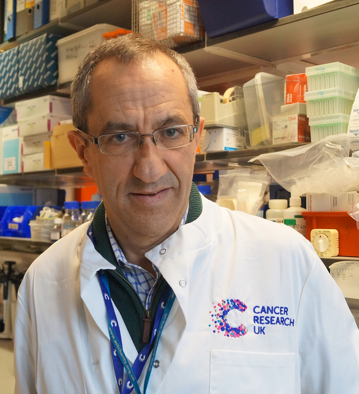 Professor Carlos Caldas leads the Breast Cancer Programme at the CRUK Cambridge Centre