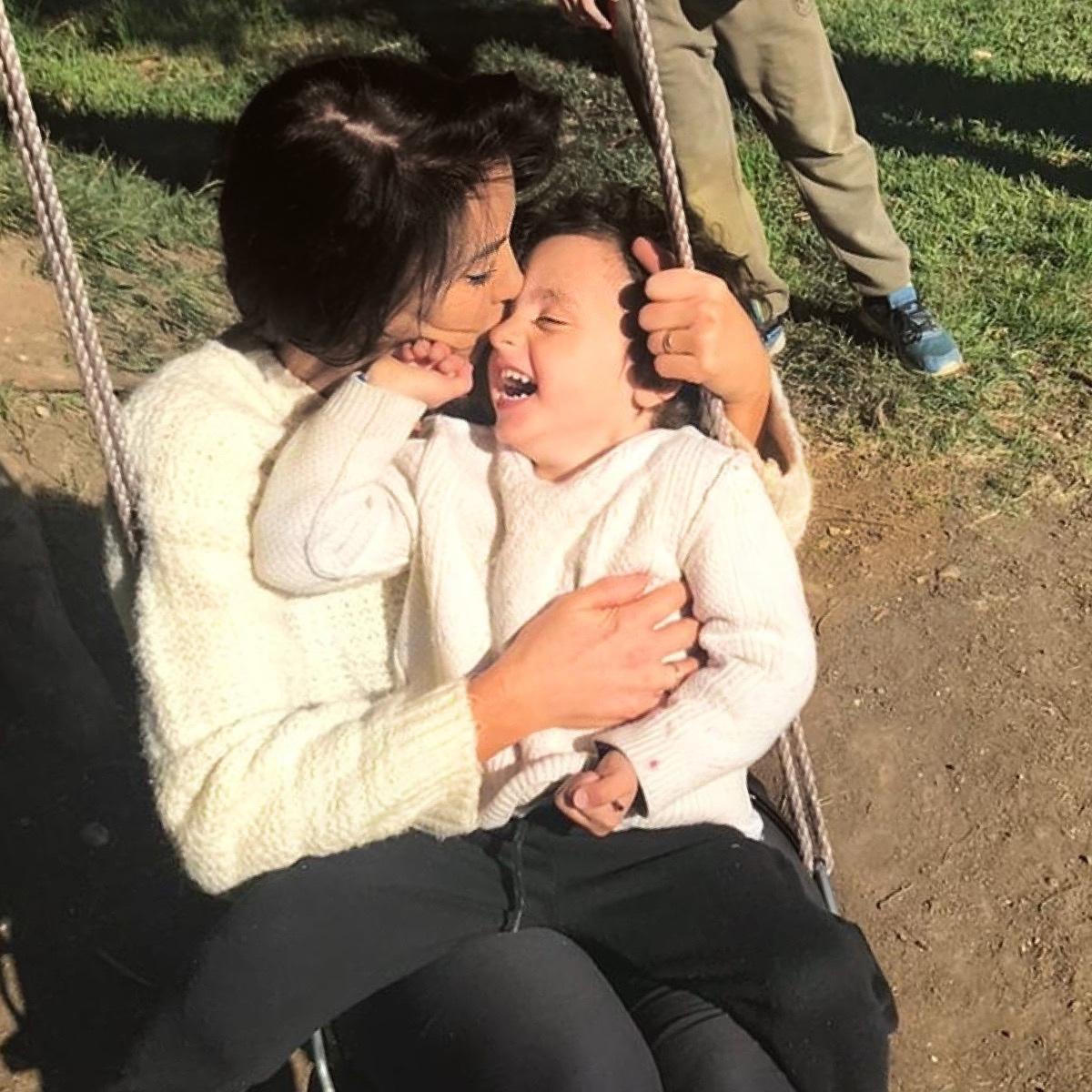 Michelle and Valentino