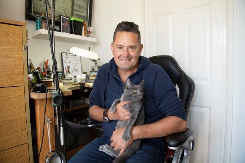 Steve Johnson underwent CAR-T cell therapy for relapsed leukaemia.