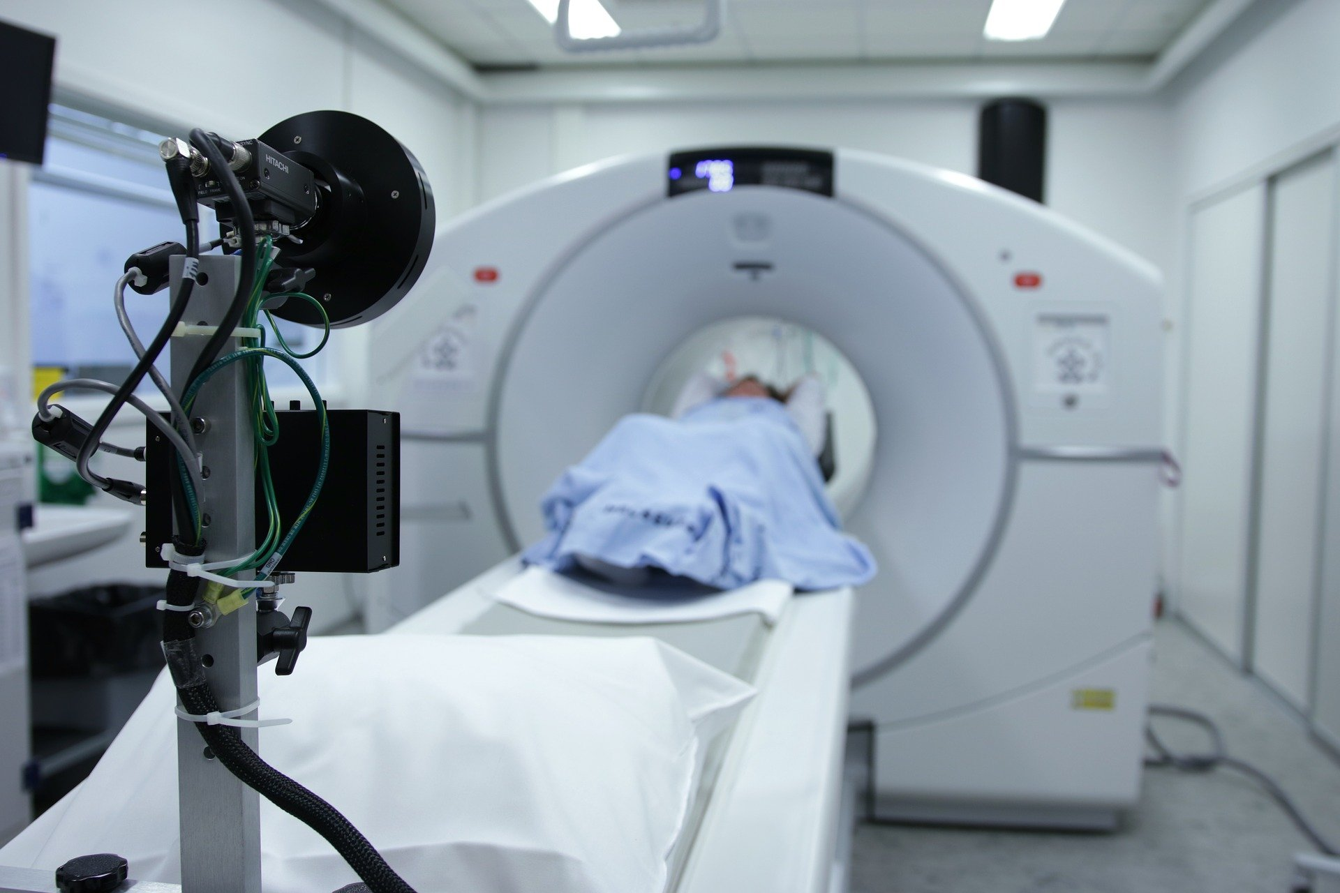 CT scanning machine (credit: Bokskapet, Pixabay)