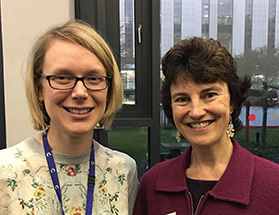 Dr Sarah Bohndiek and Professor Rebecca Fitzgerald lead the Early Detection Programme