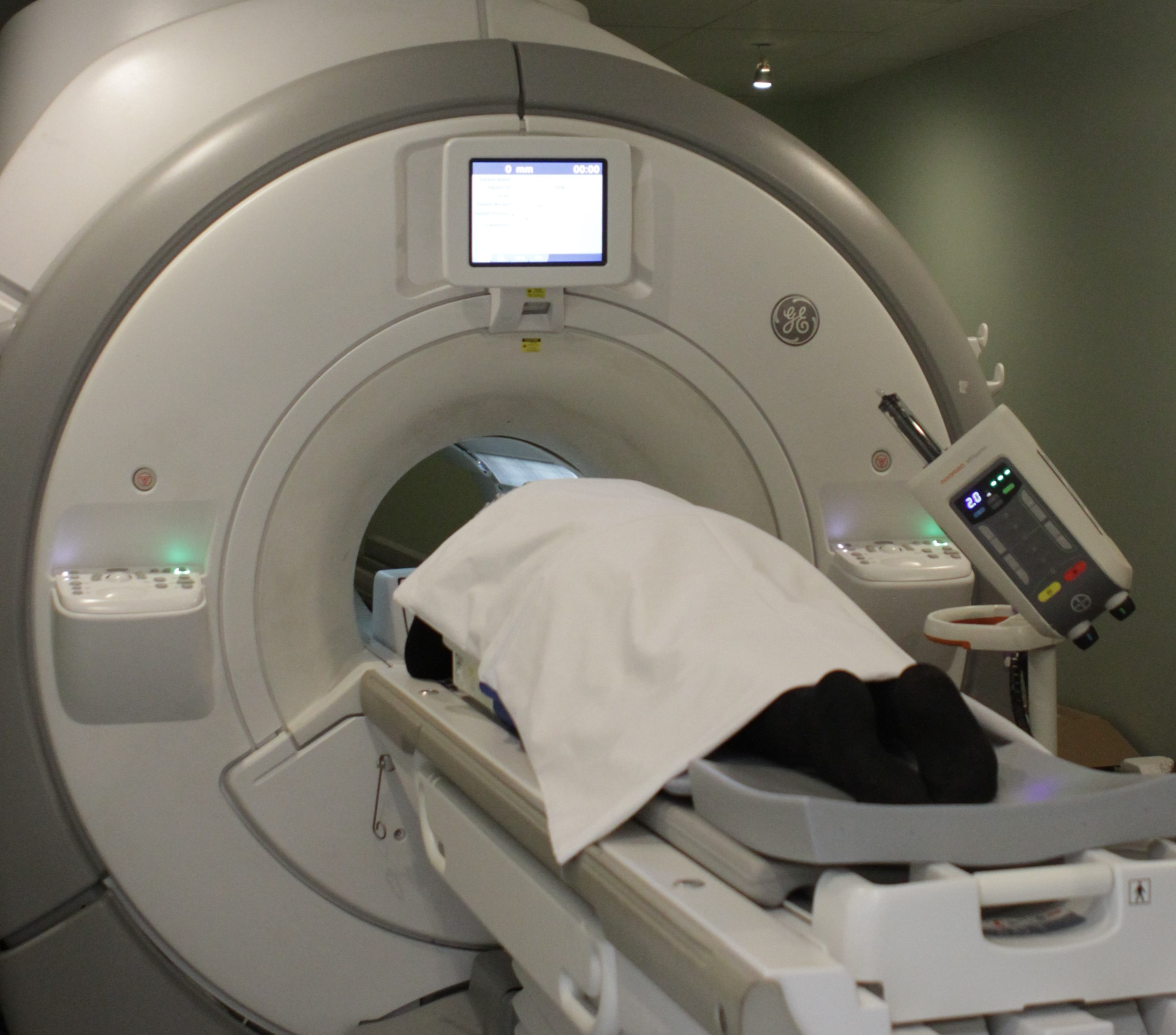 The patient is injected with the solution then given an MRI scan.